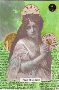 3 Clocks Tarot - K. Small